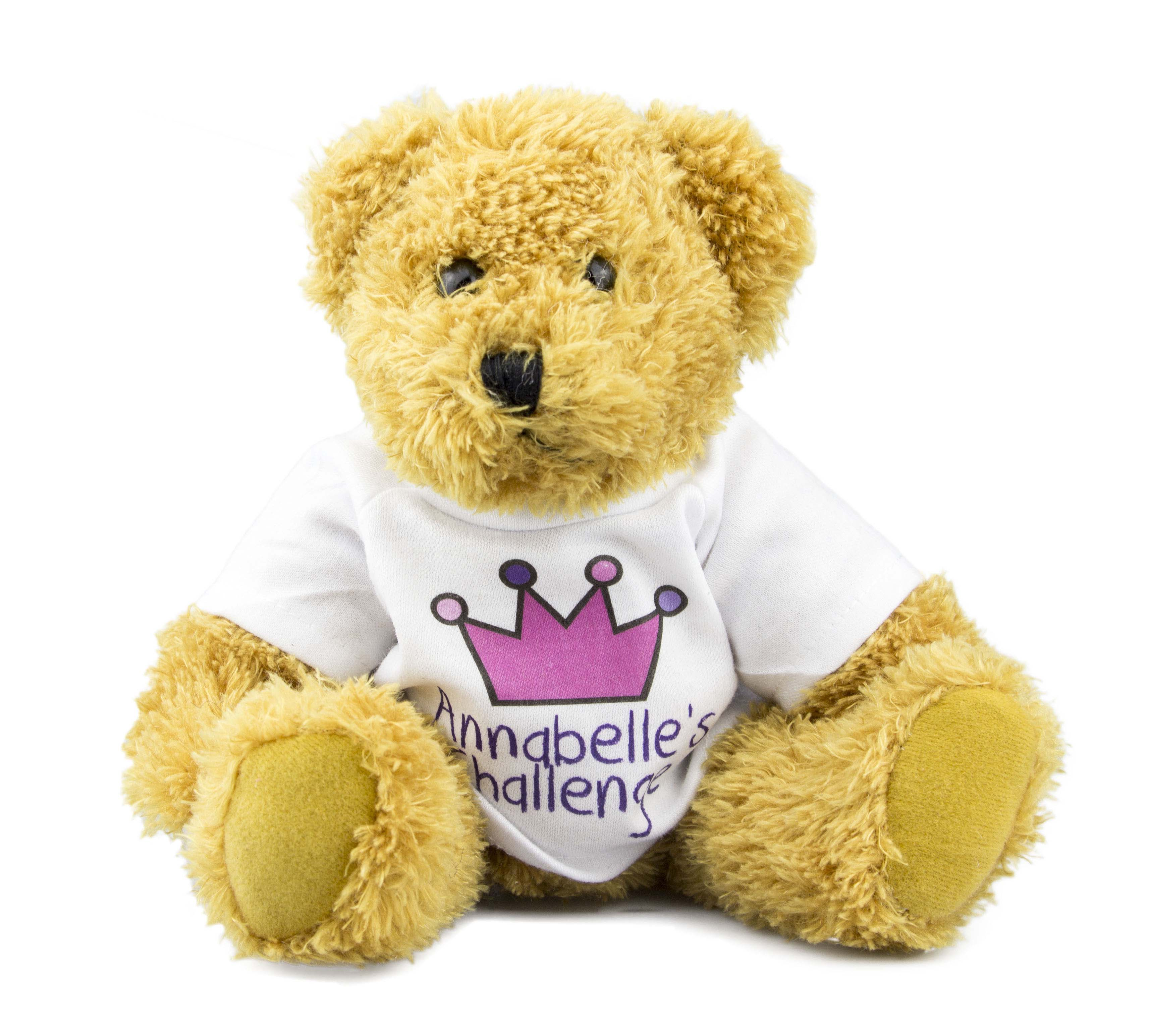 Annabelle's Challenge Mascot Toby Bear