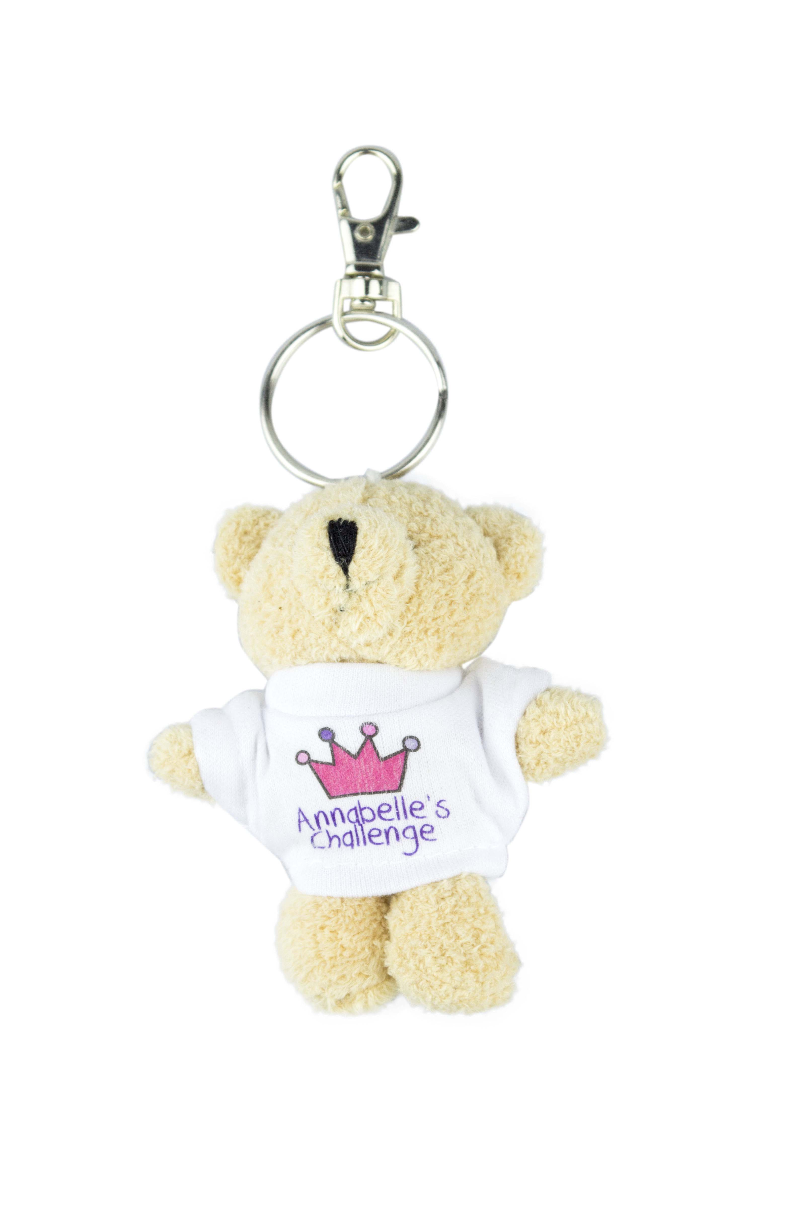 Toby Bear Mascot Key Ring