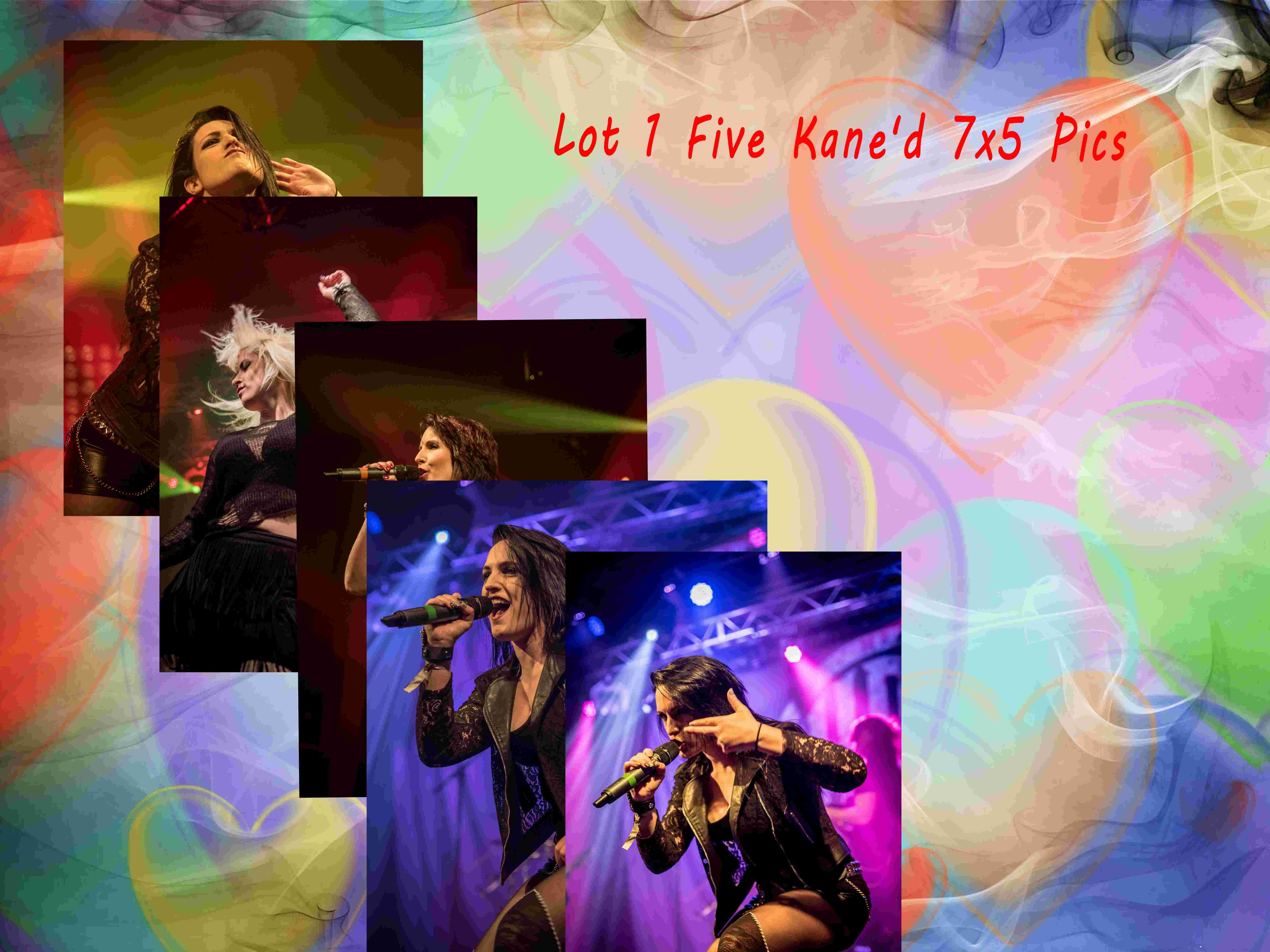 Set 3 Five Kane'd 7X5