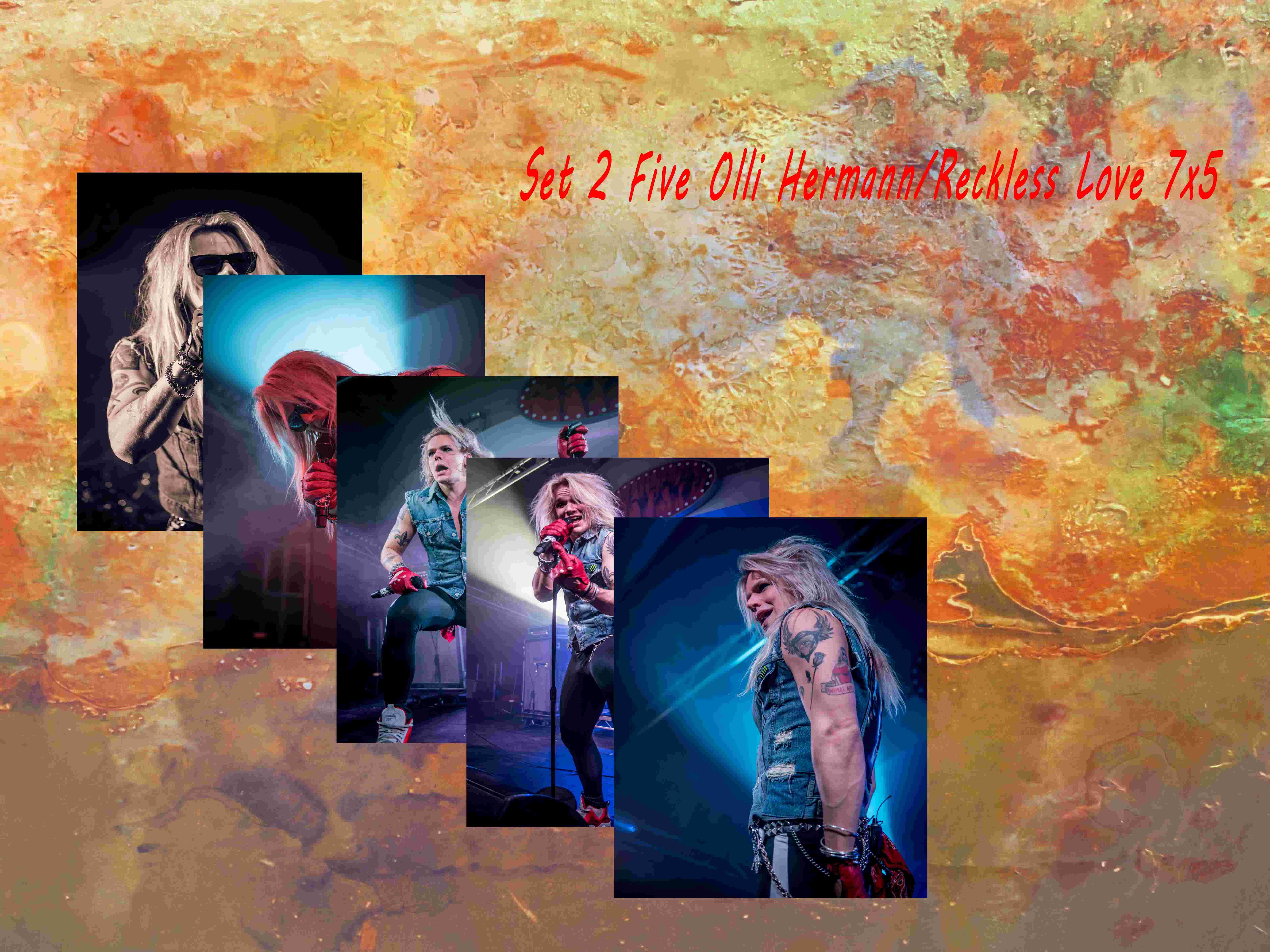 Set 4-2 Olli Reckless Love 7 X 5