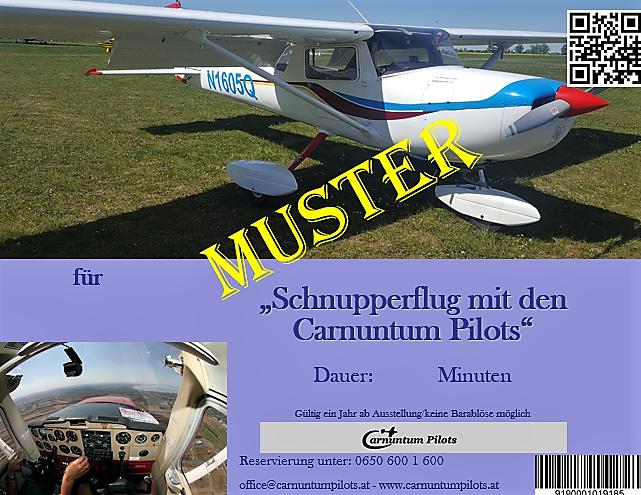 Schnupperflug Cessna