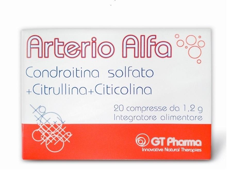 Arterio Alfa 20 compresse da 1,2 g