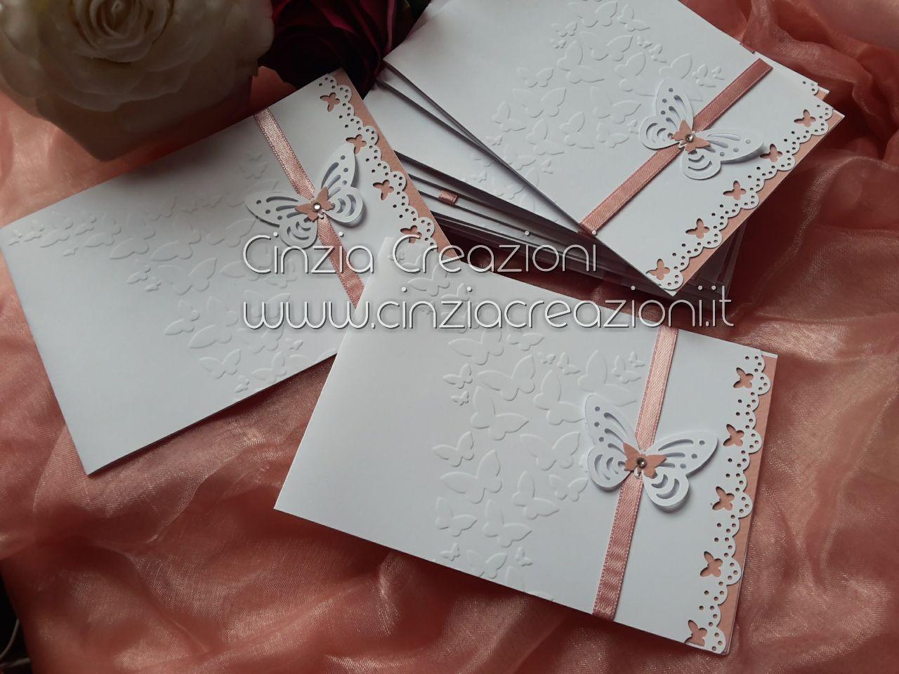 Matrimonio Tema Farfalla : Partecipazioni matrimonio farfalla farfalline e cuoricini