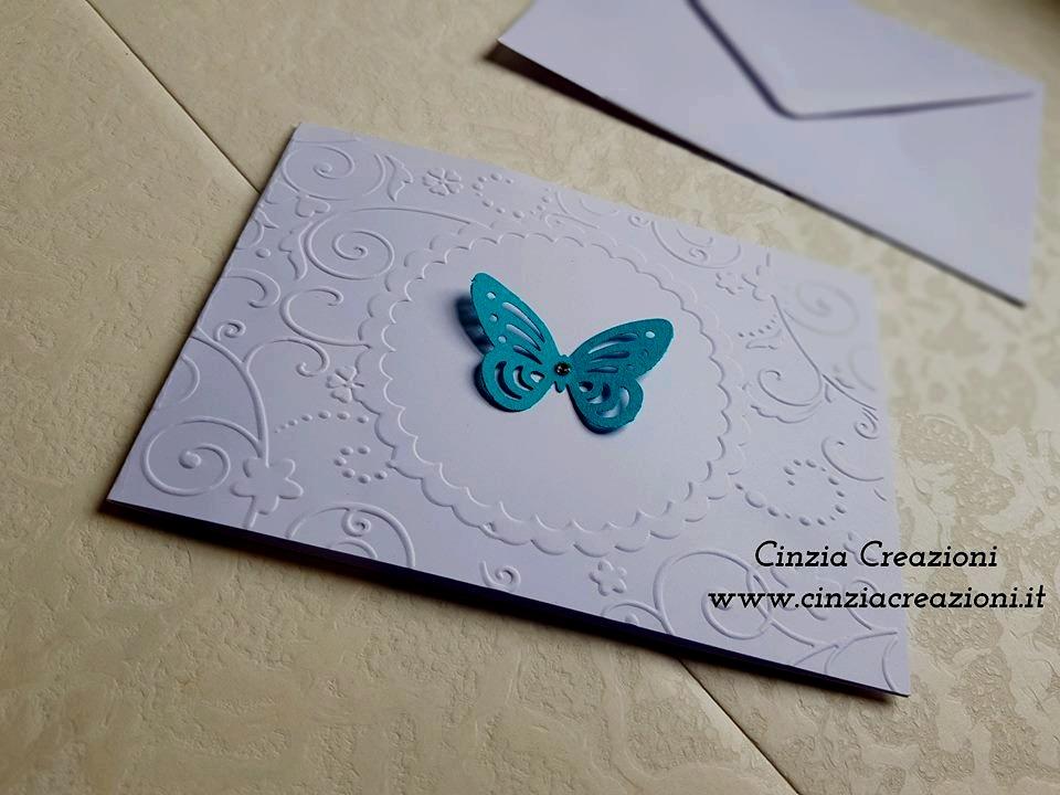 Partecipazione farfalla economica
