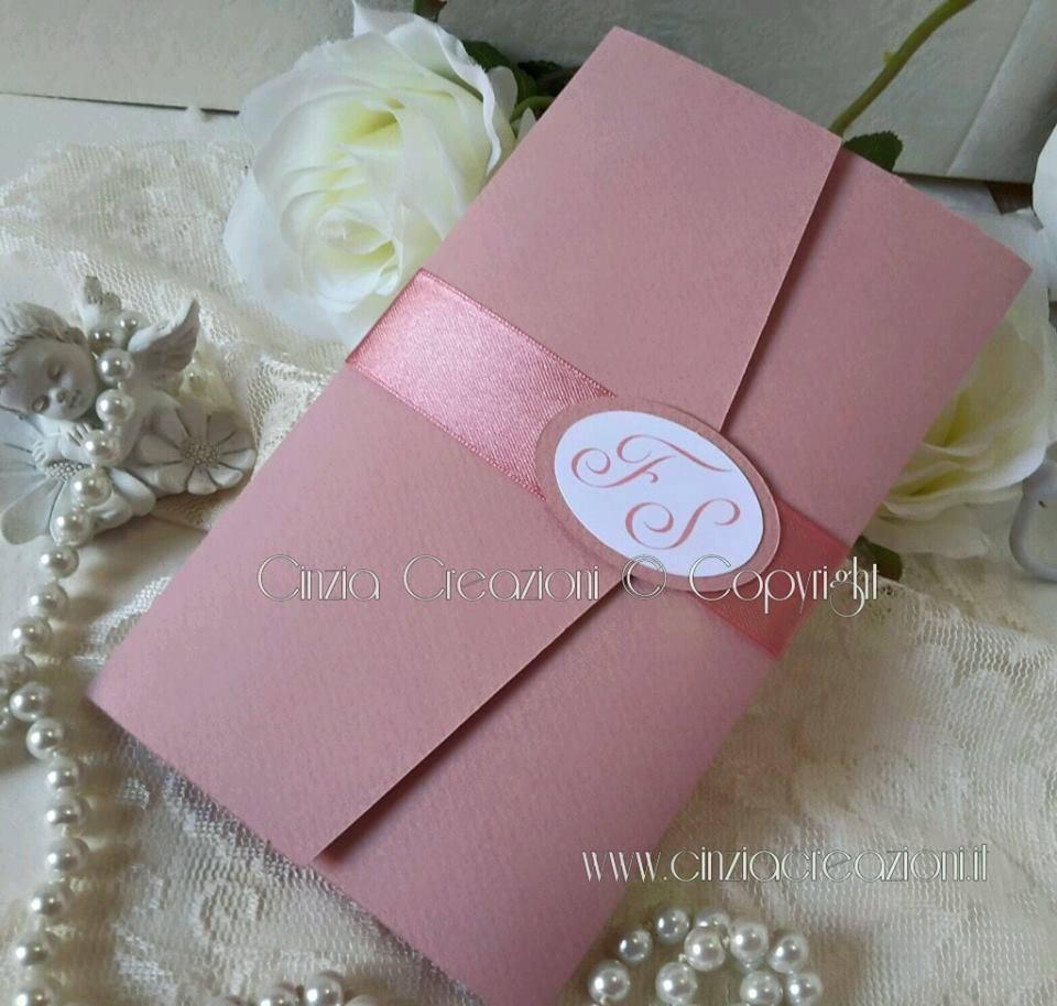 Matrimonio In Rosa : Partecipazioni matrimonio originali economiche rosa antico