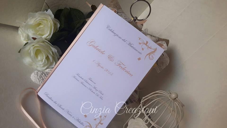 Libretto Matrimonio Simbolico Pdf : Libretto messa matrimonio farfalle farfalline
