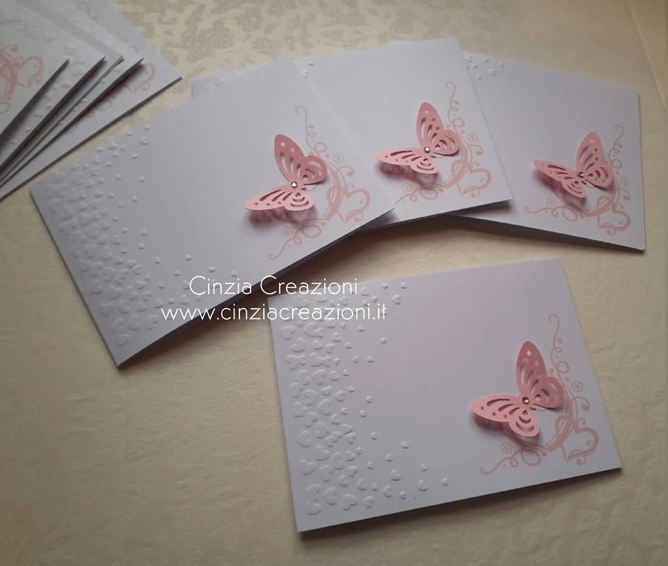 Partecipazioni tema farfalle 49