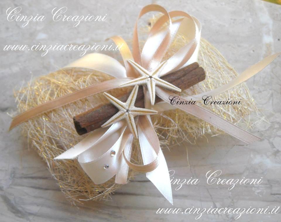 Matrimonio Tema Stelle E Pianeti : Porta confetti matrimonio stelle marine cannella fibra