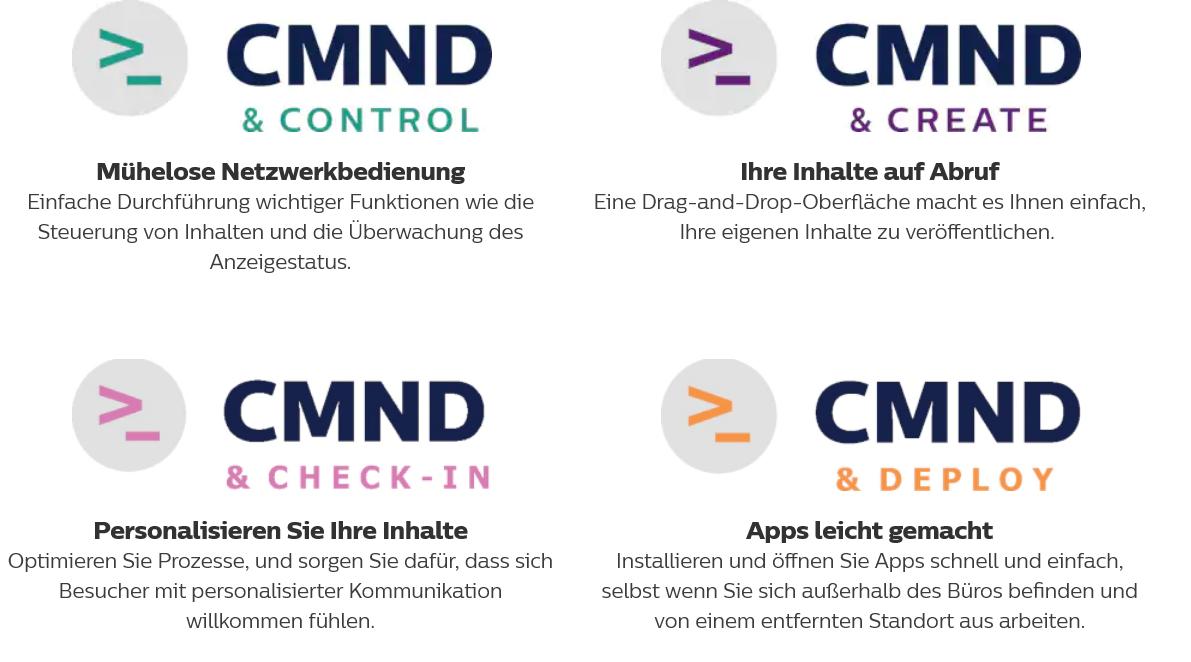 Philips CMND Software Anbieter