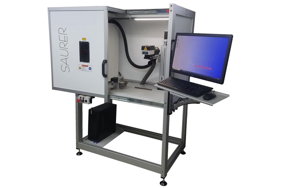 Laseranlage Saurer Precision XL