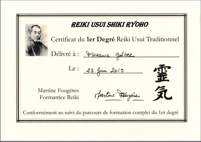 Certificat de praticien niv. 1