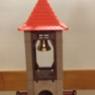 Turm mit Kreuz, Glockenstuhl und Wehrgang