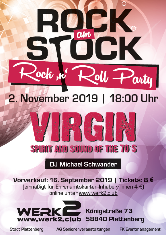 1 Ticket Rock am Stock