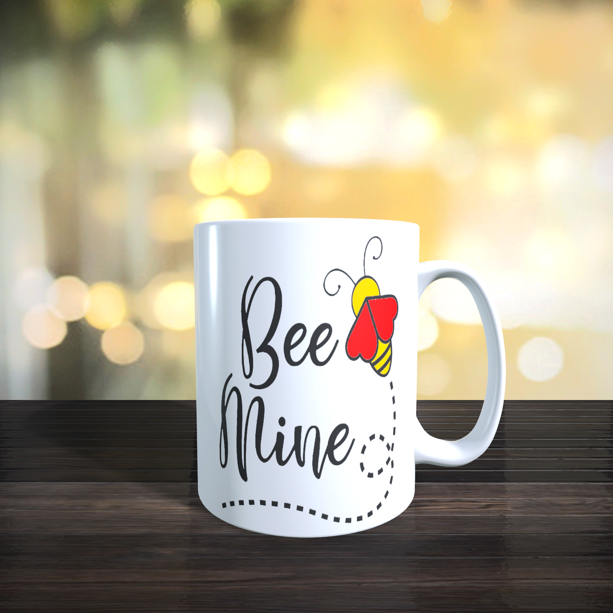 11oz Ceramic Bee Mine Mug