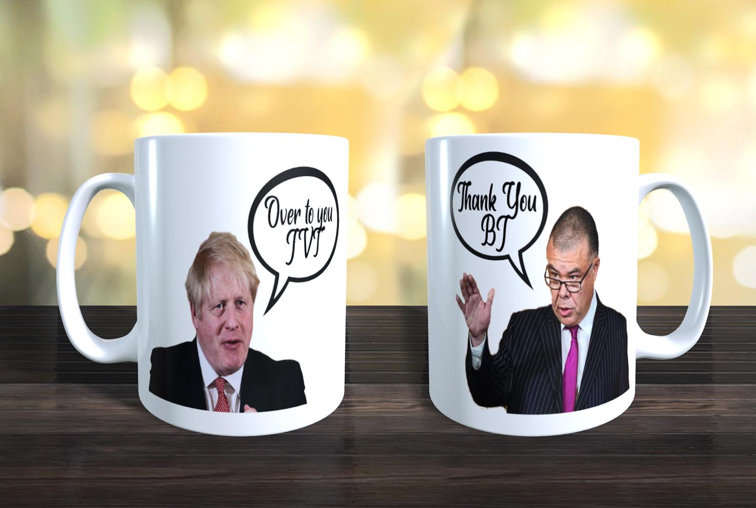 Jonathan Van-Tam / Boris Johnson Lockdown Humour