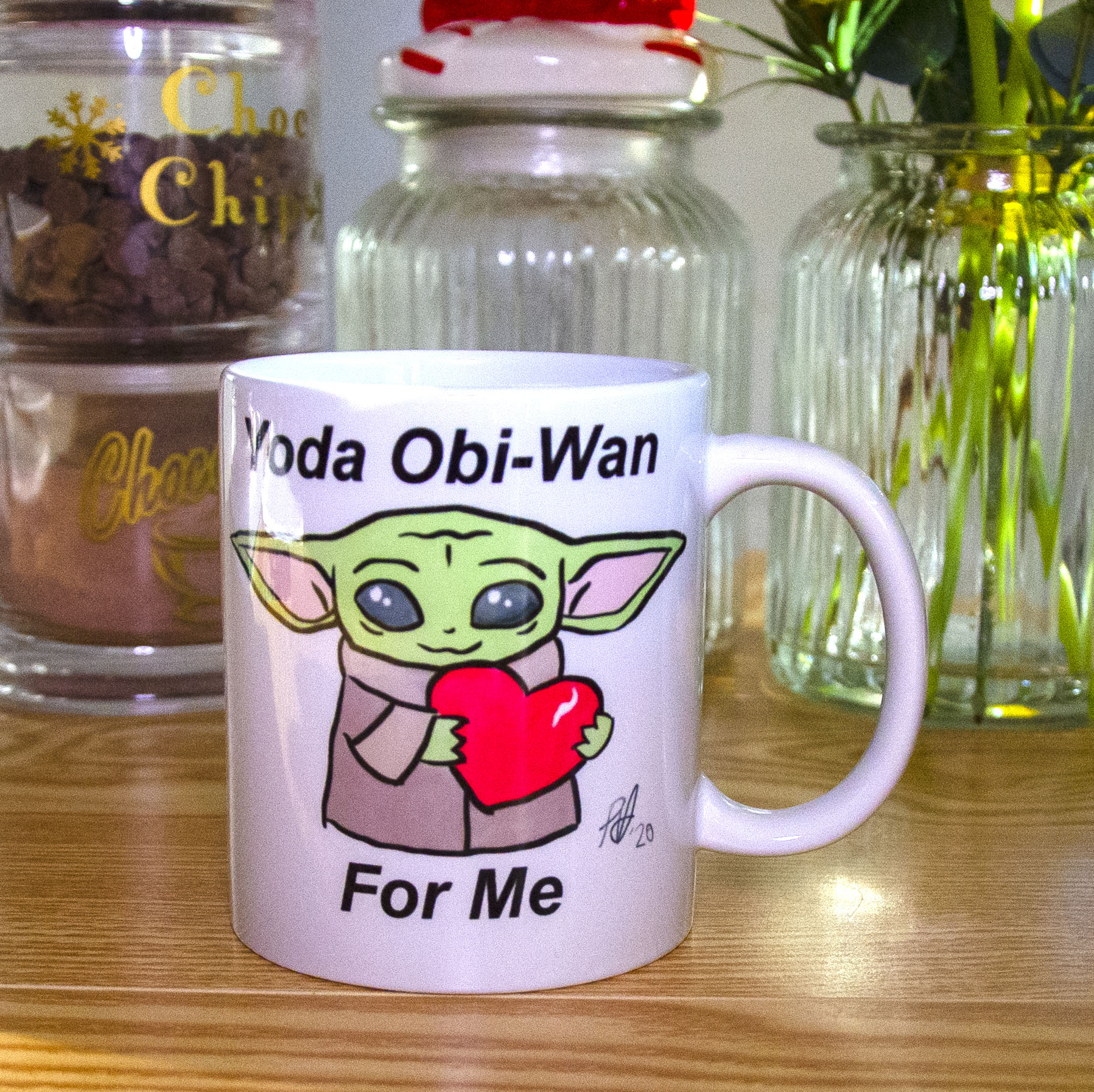 Cute Yoda 11 oz Ceramic Mug