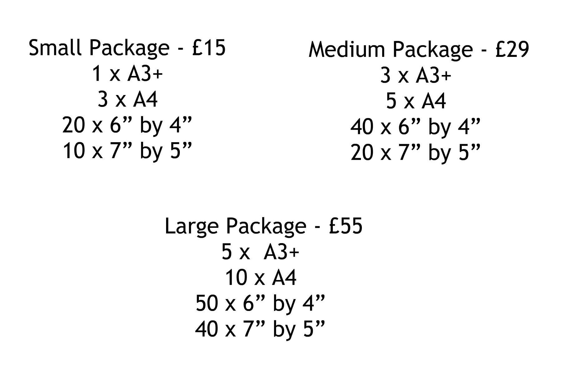 Print Package