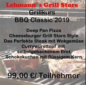 Grillkurs BBQ Classic 2019 20.09.2019