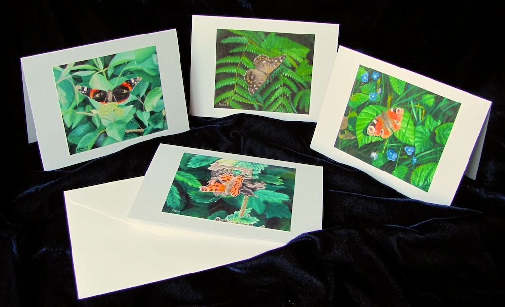 Butterfly collection (cards)