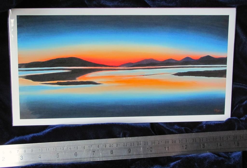 Luskentyre Sunset Print