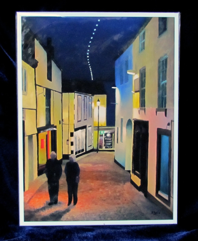 St Ives Evening Print