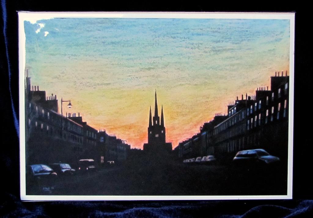 Edinburgh Twilight Print