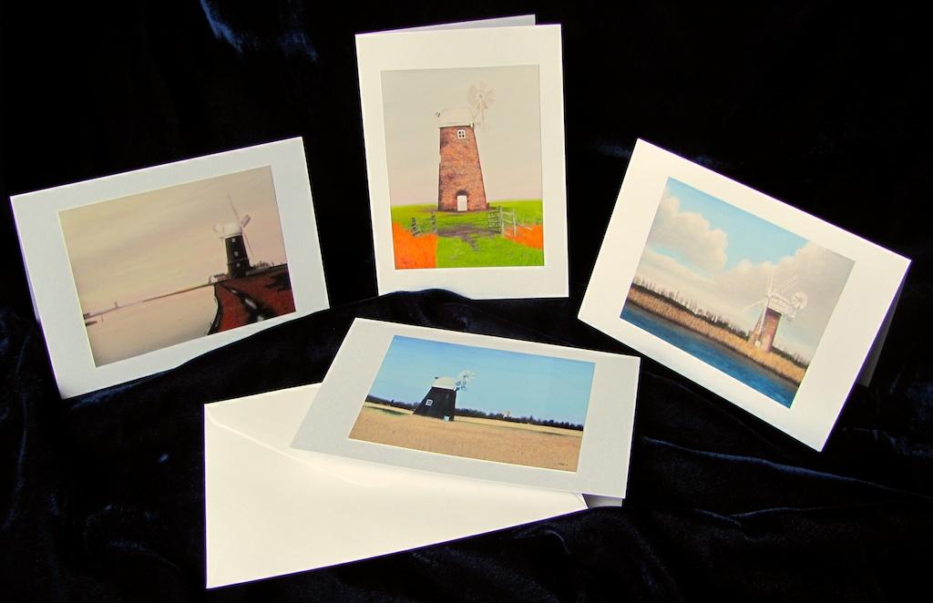 Norfolk Windmills (cards)