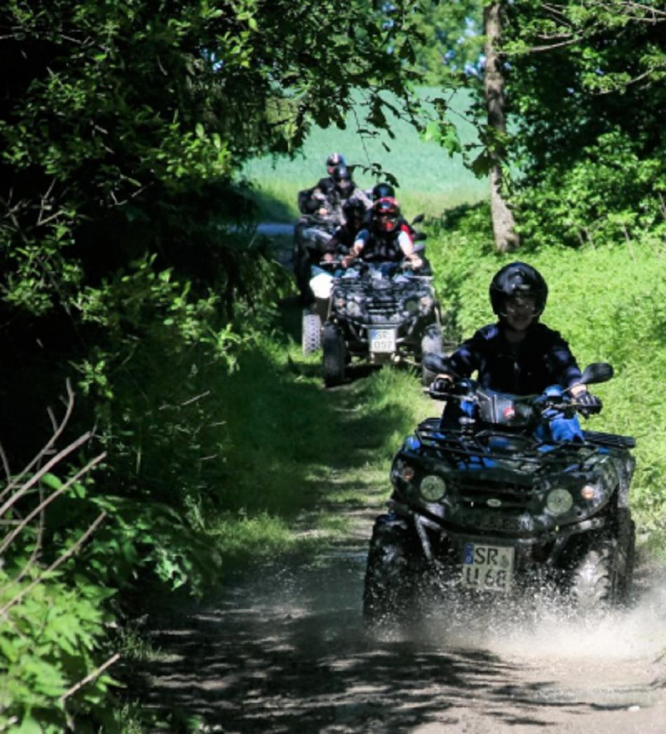 Gutschein Geführte Quad On&Offroad Tour Bayrischer Wald