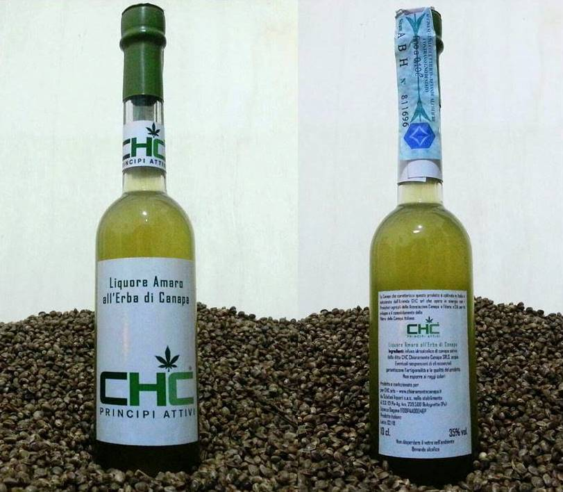 Liquore Amaro all'Erba di Canapa
