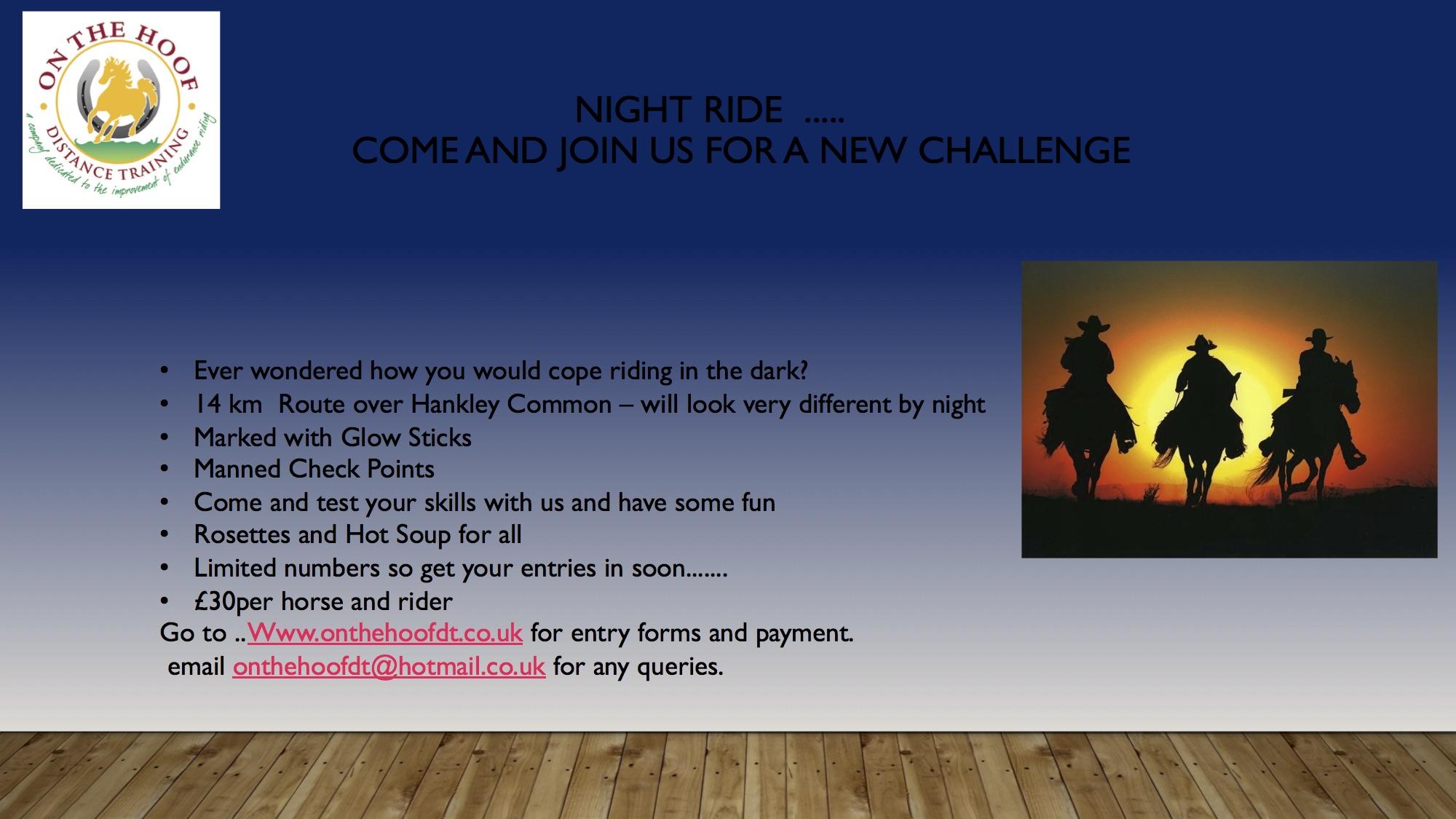 Night Rider 9th November