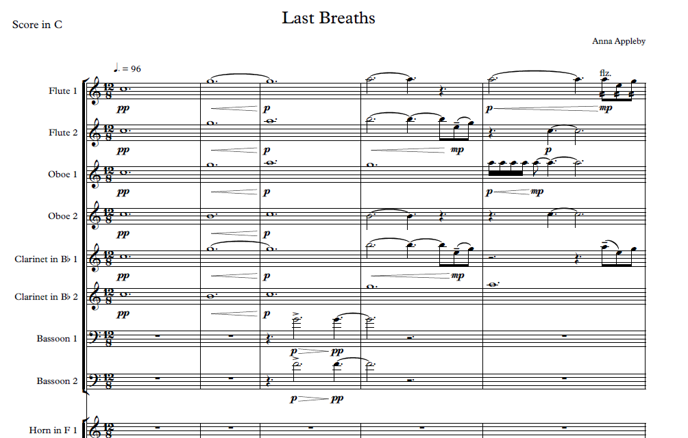 Last Breaths for Orchestra