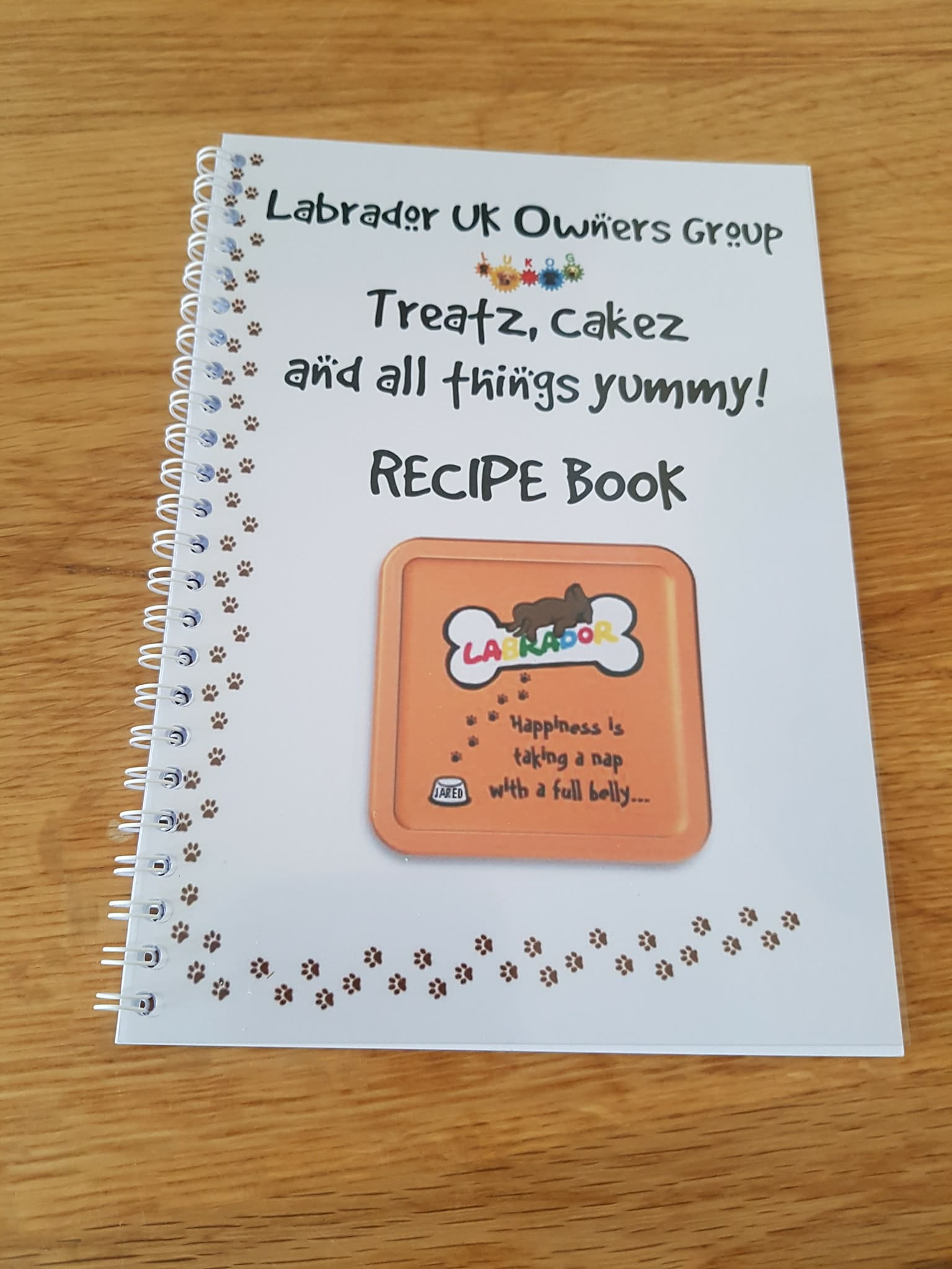LUKOG Labby Recipe book