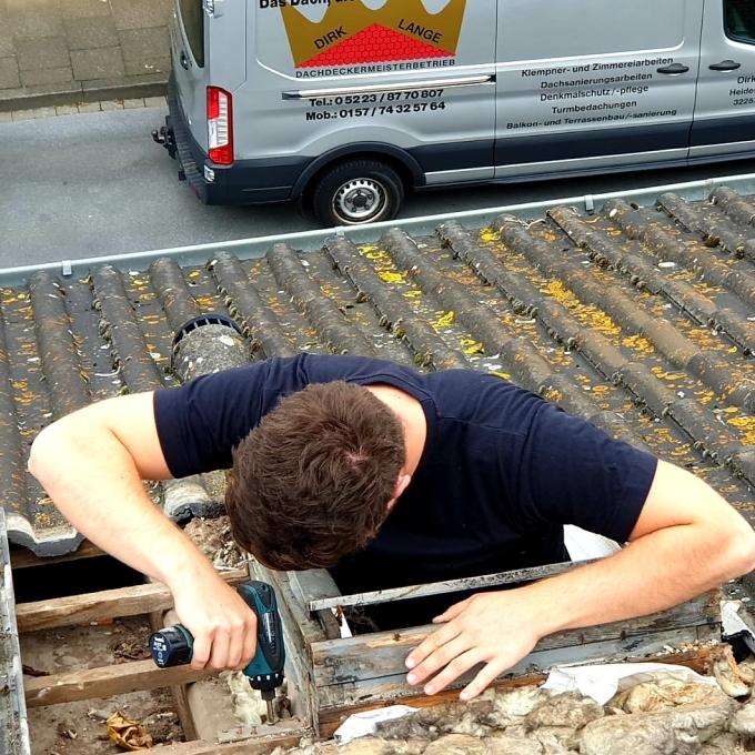 Dachfenster Einbau Herford