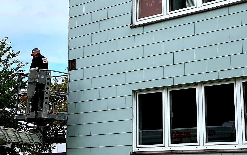 Fassadenreparatur Spenge