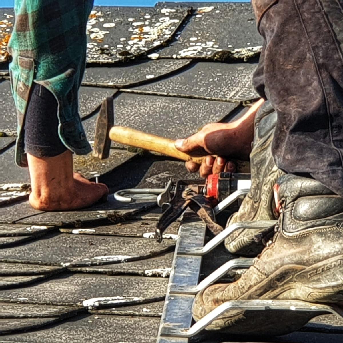Aktion: Dachinspektion