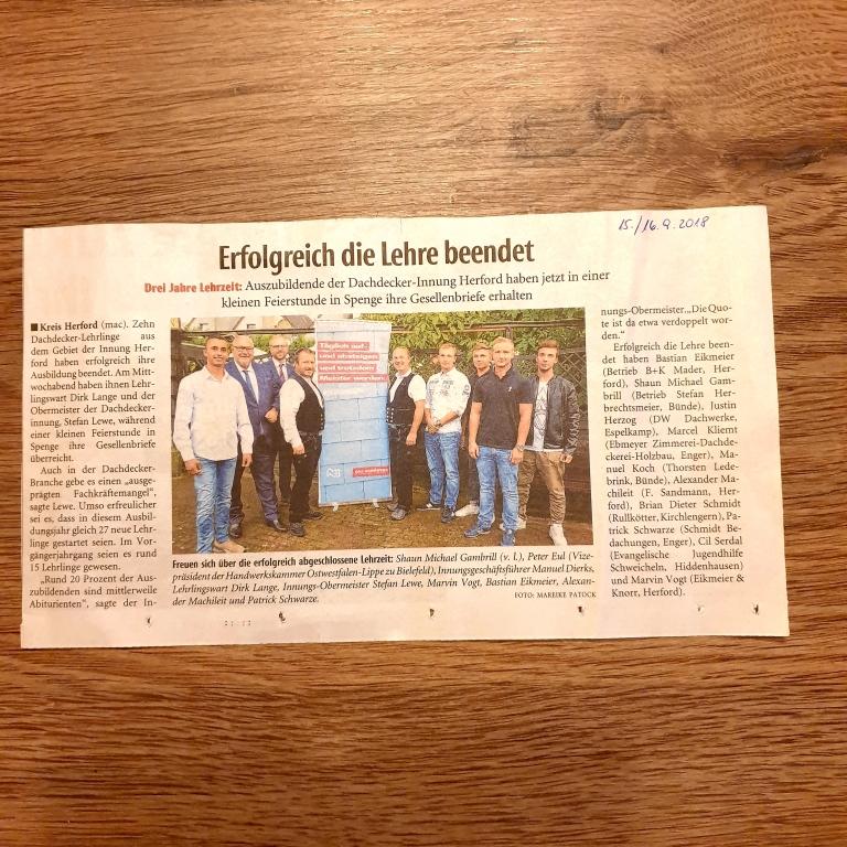 Artikel aus der Neue Westfälischen Zeitung