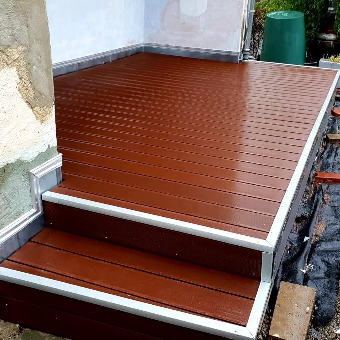 Terrassenbau in Herford