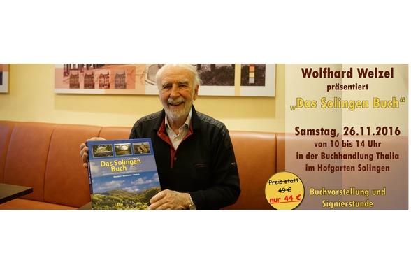 """Wolfhard Welzel und """"Das Solingen Buch"""""""
