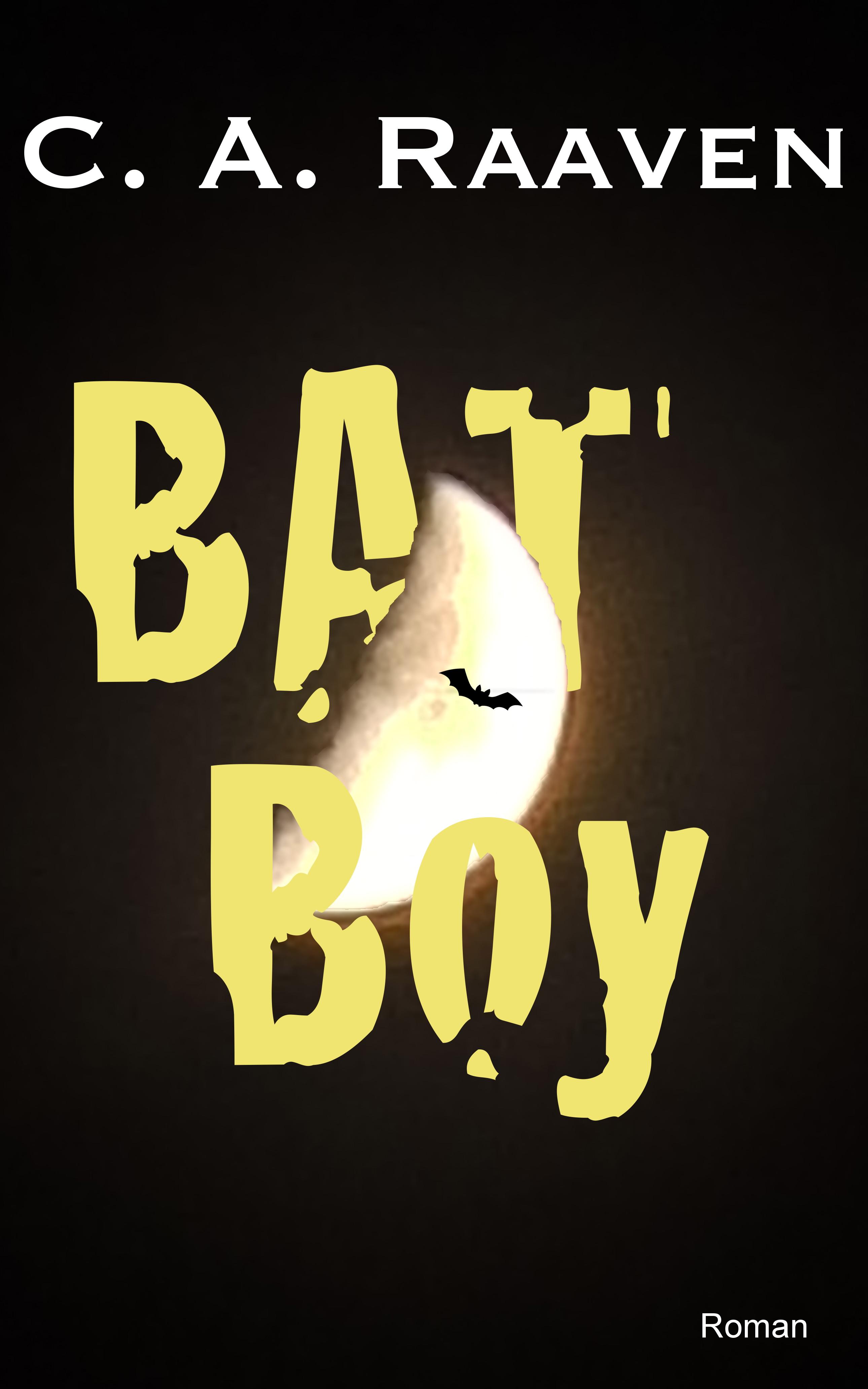 BAT Boy Cover mit Mond