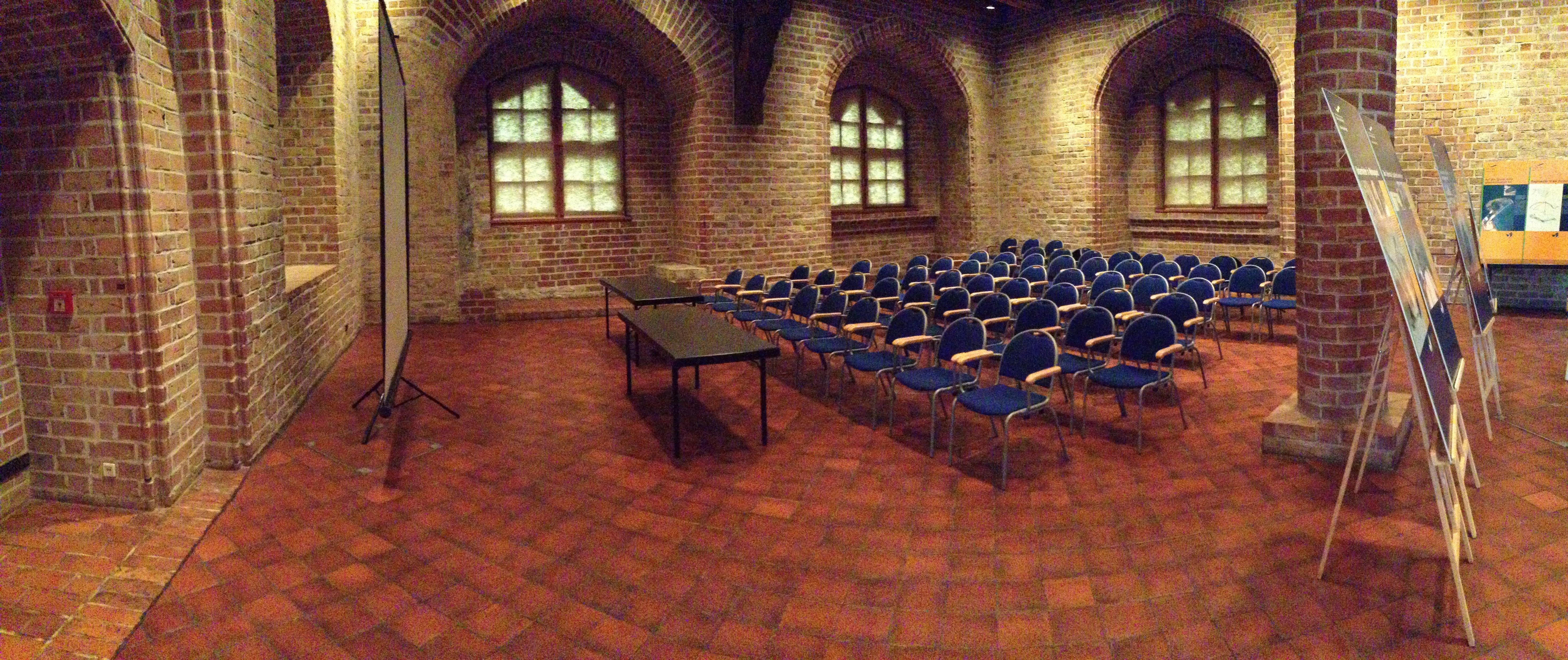 Gotischer Saal in der Zitadelle Spandau