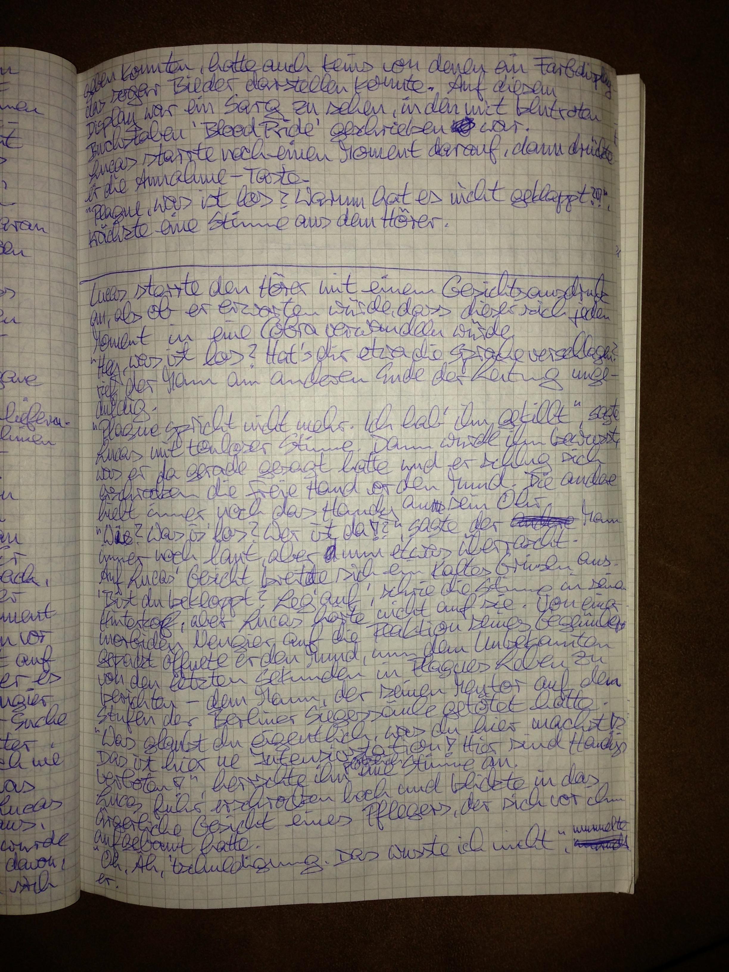 BAT Boy 2 Manuskript