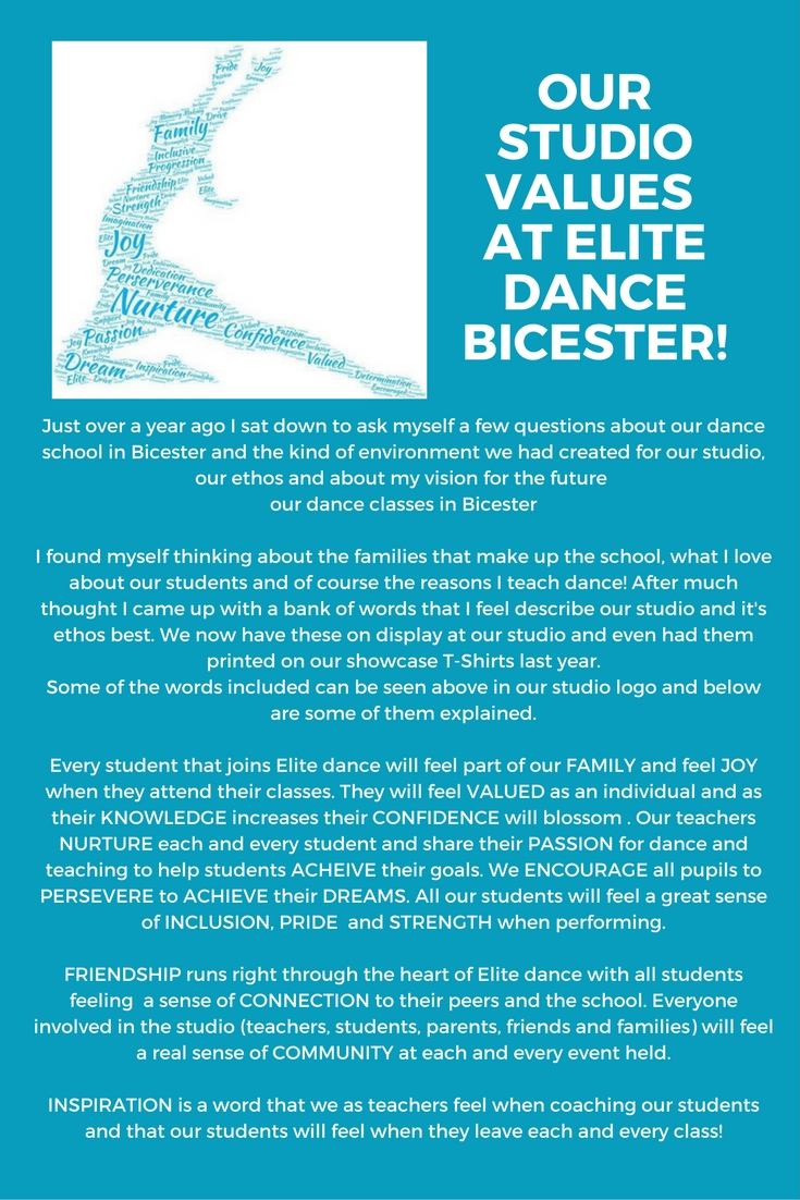 Elite Dance & Theatre Tuition - Blog