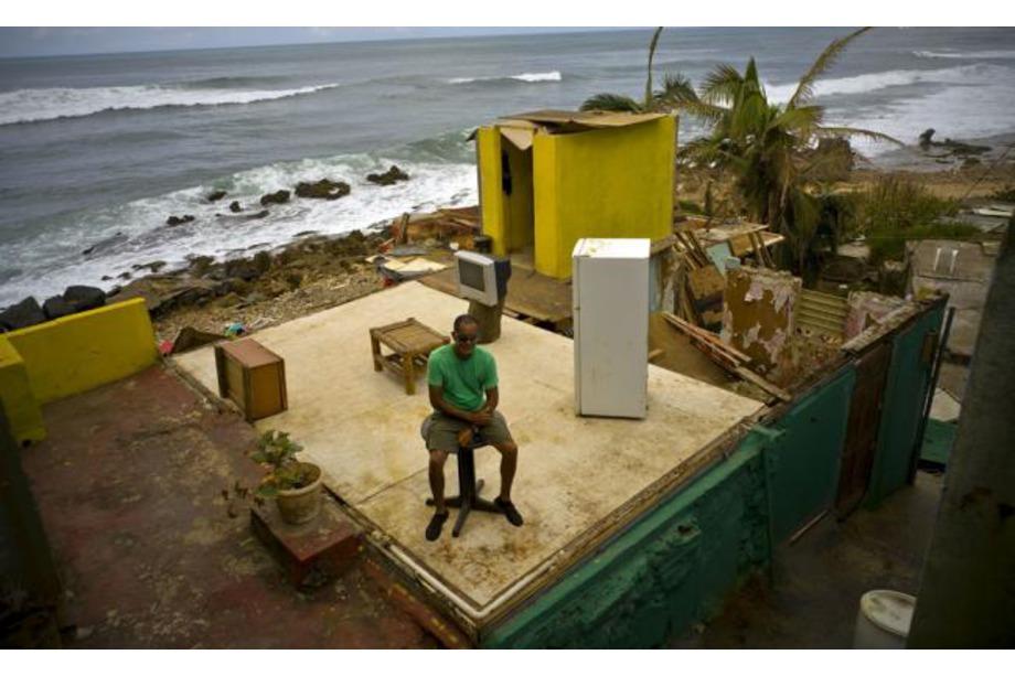 Huracán en Puerto Rico