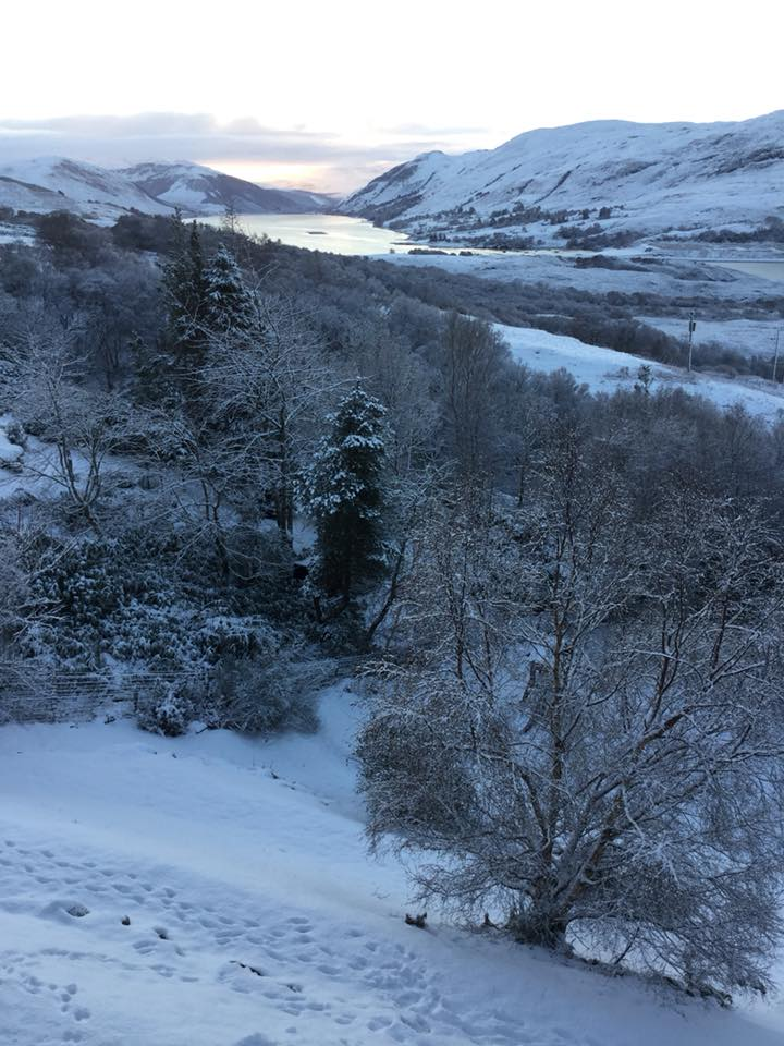 Ullapool Self Catering Snow