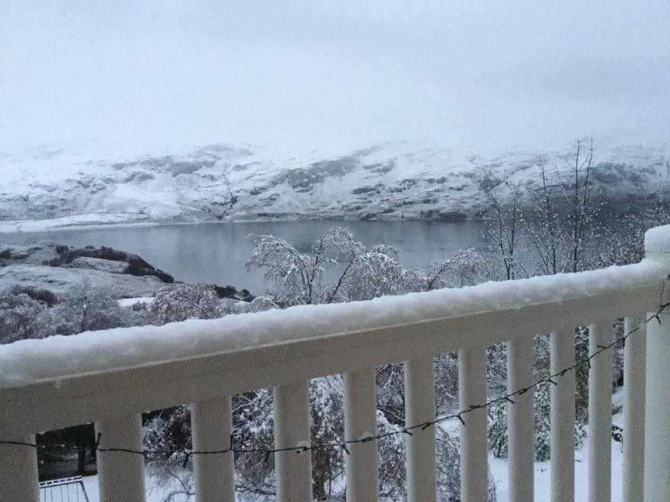 Snow in Ullapool