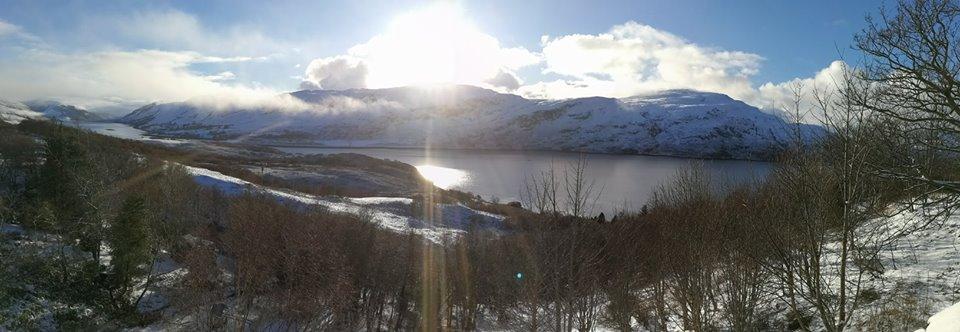 ullapool snow scene