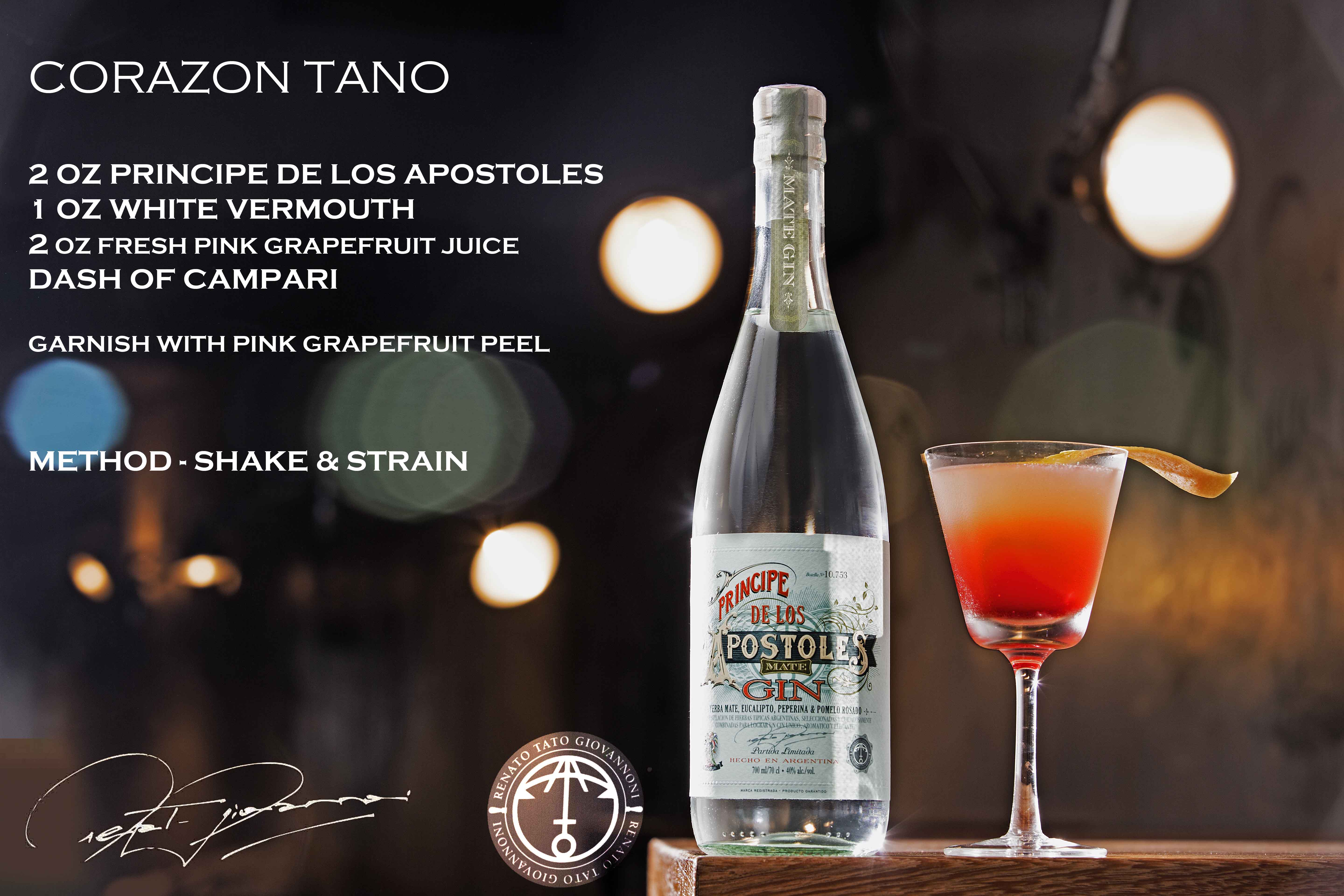 Corazon Tano - Apóstoles Cocktail