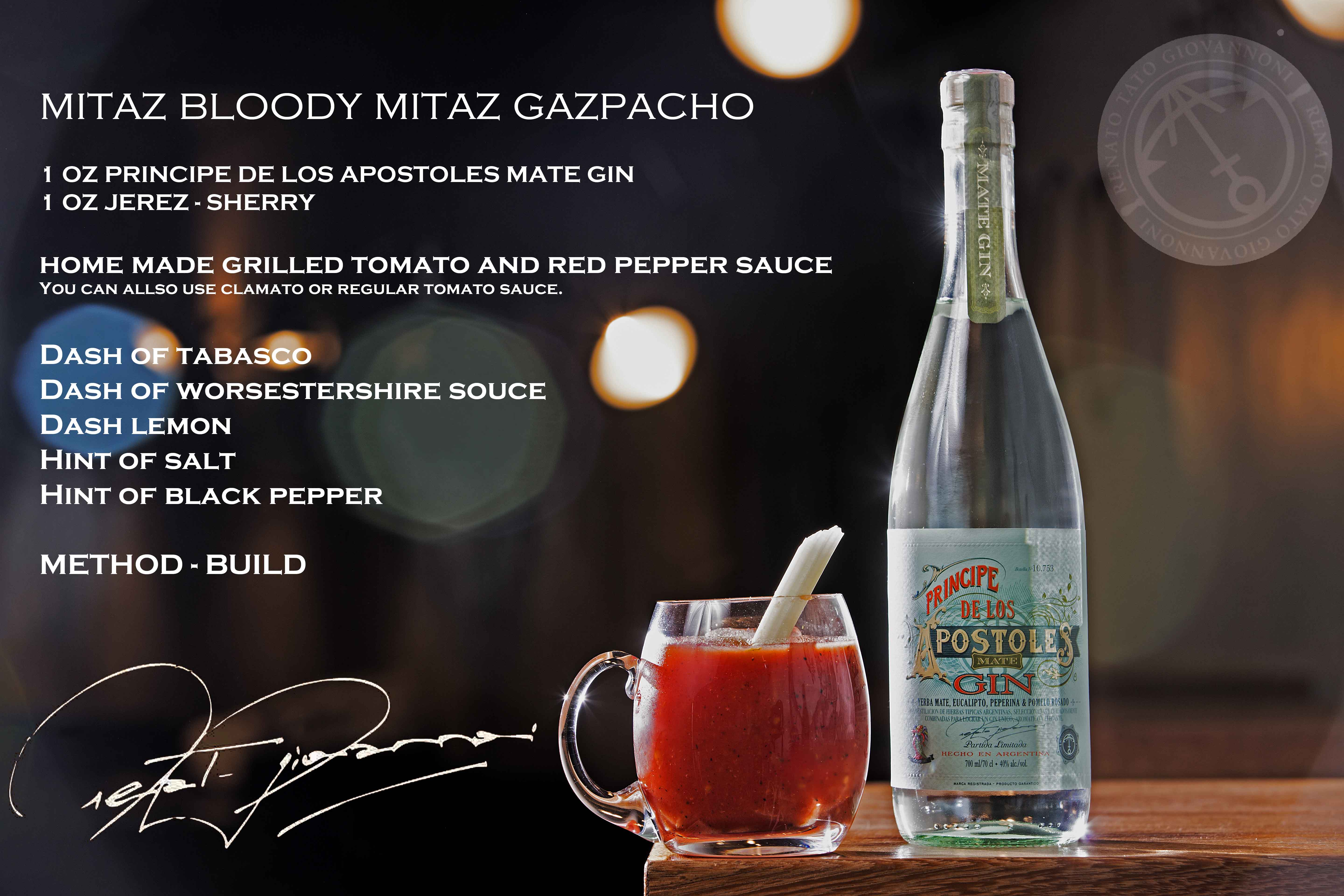 Bloody Gazpacho - Apóstoles Cocktail