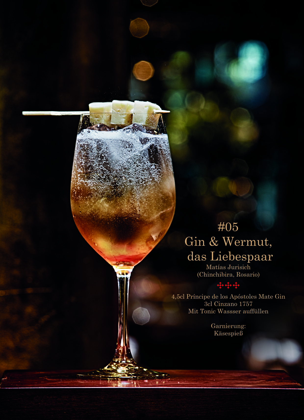 Gin & Wermut Cocktail