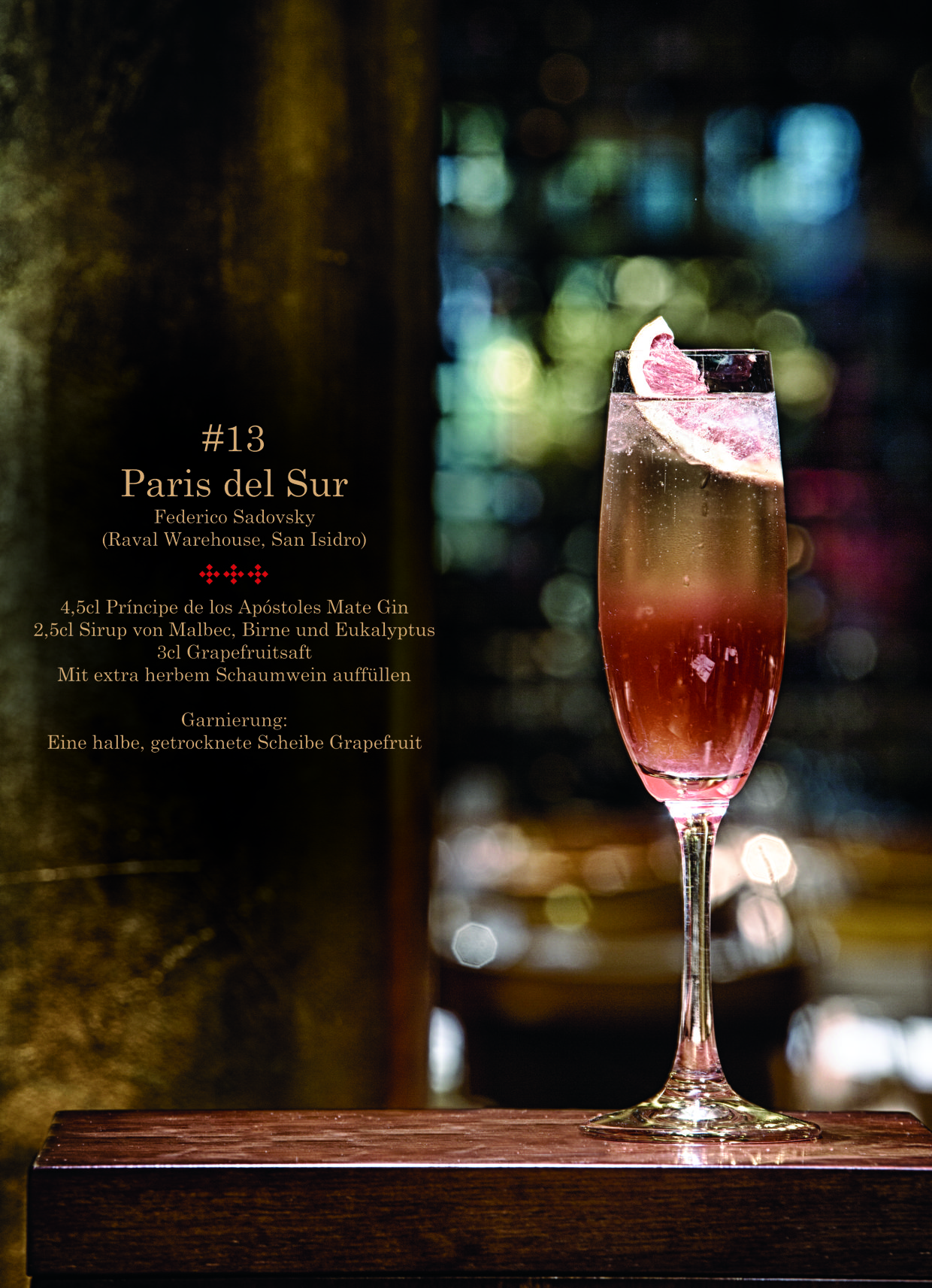 Paris del Sur Cocktail